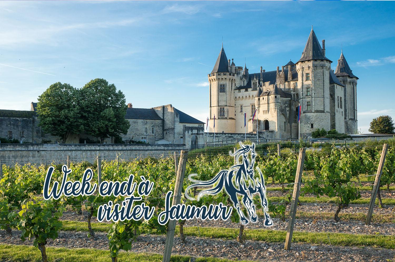 Visiter Saumur en un week-end