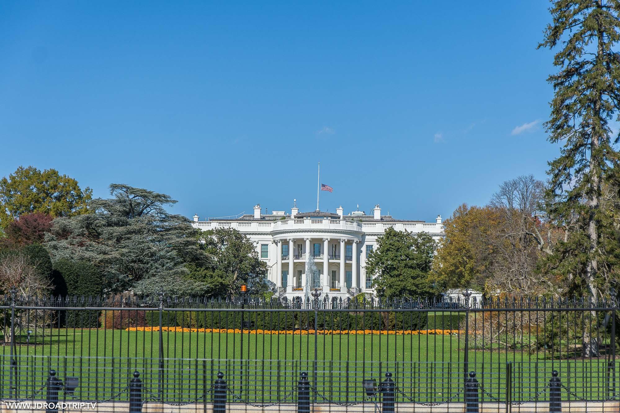 Visiter Washington DC en 5 jours - Maison Blanche