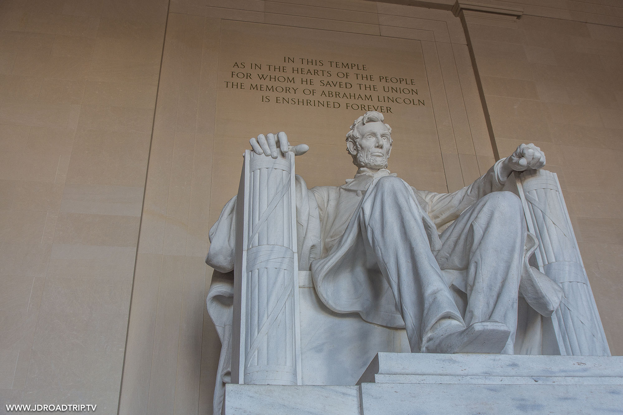 visiter Washington DC en 5 jours - Lincoln Memorial