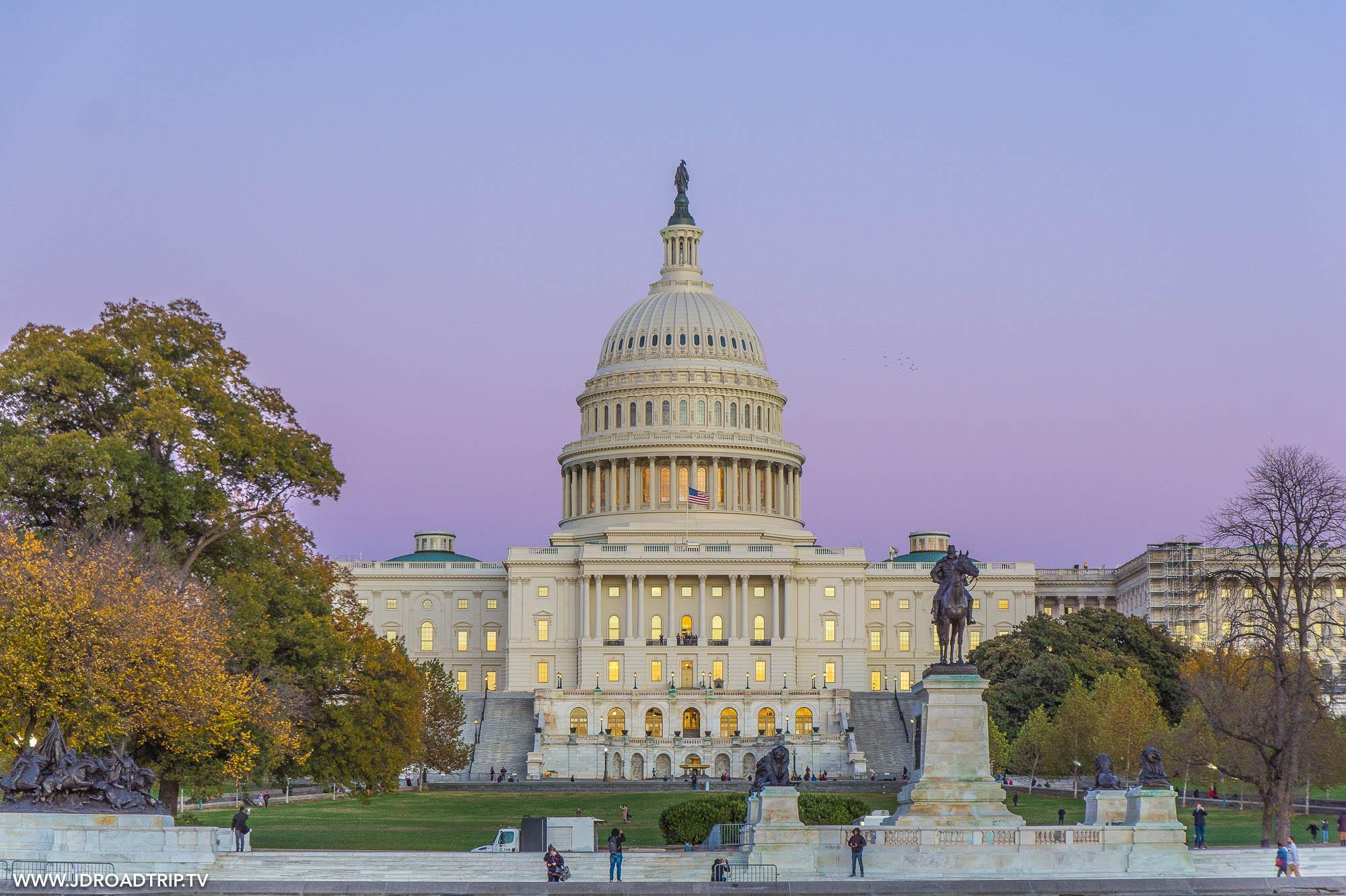 Visiter Washington DC en 5 jours - Le Capitole