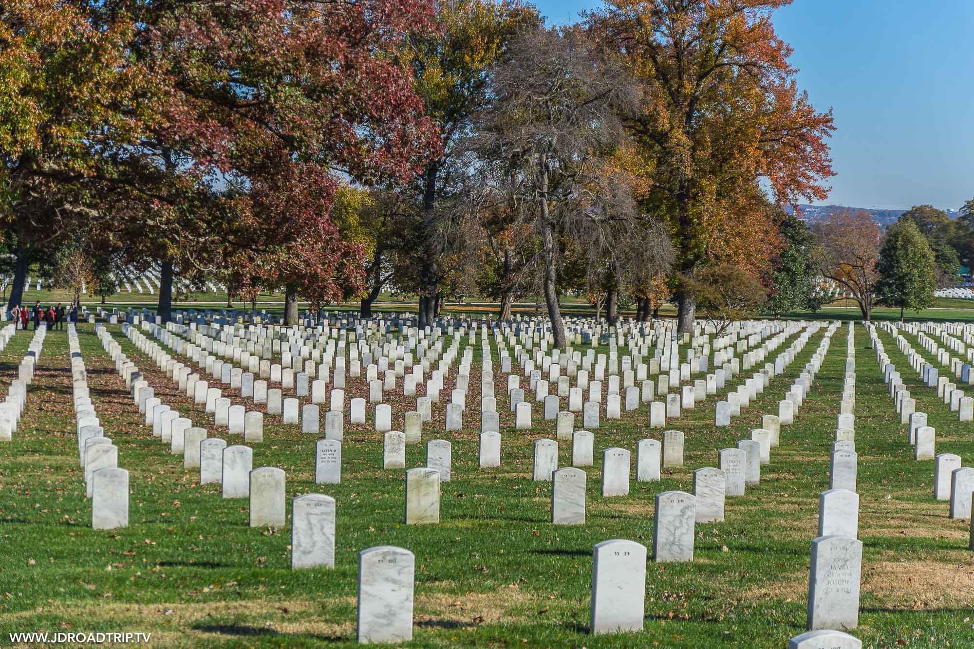 visiter Washington DC en 5 jours - Cimetière d'Arlington