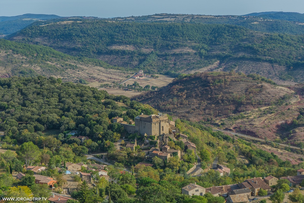 visiter le Haut-Languedoc - Château de Dio
