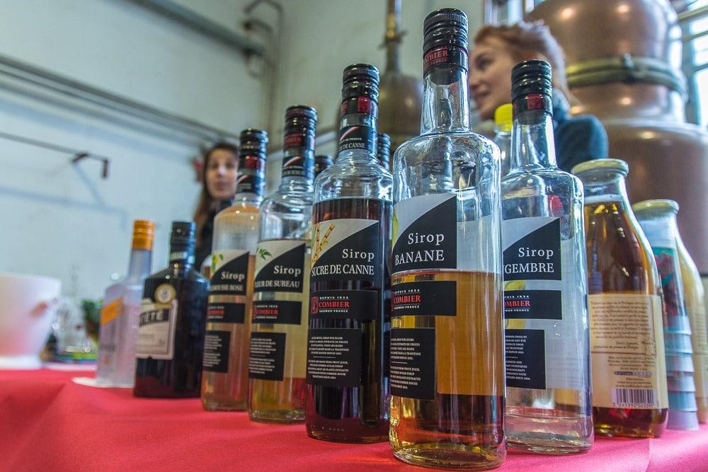Visiter Saumur - distillerie Combier