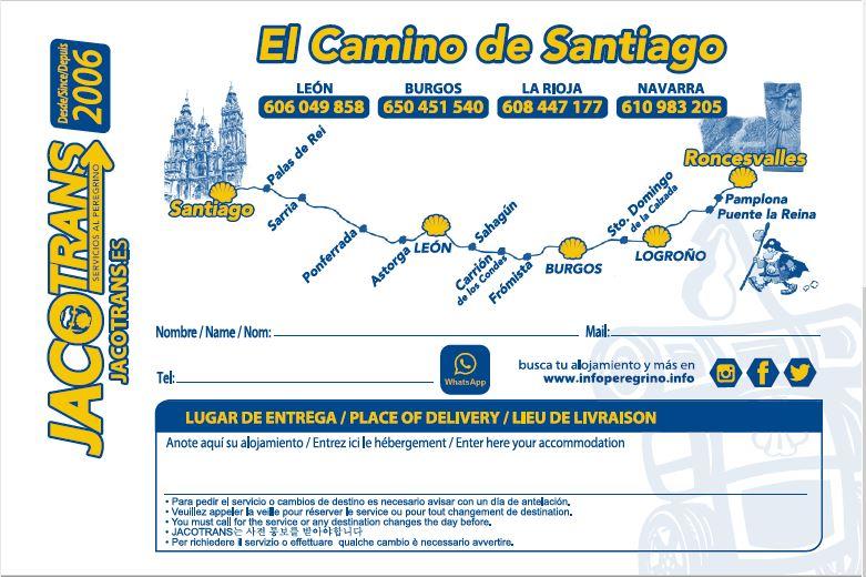 Conseils pour faire le chemin de Saint Jacques de Compostelle - Transports