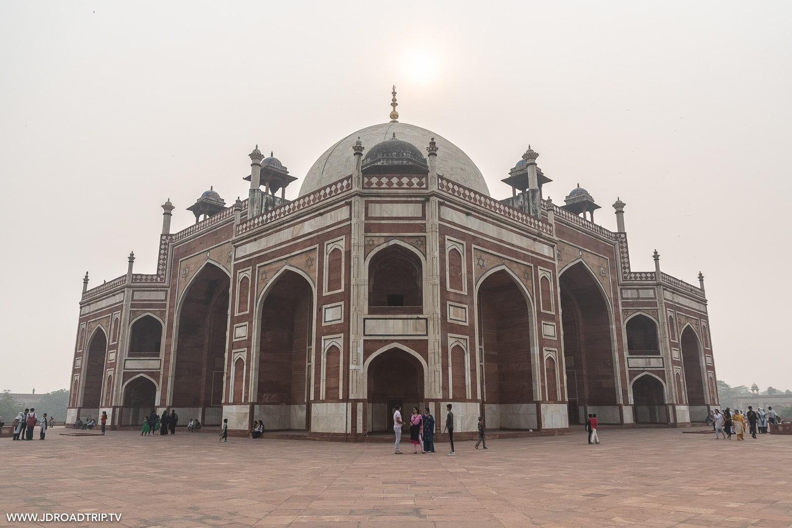 Conseils pour visiter New Delhi en 3 ou 4 jours - Tombeau Humayun