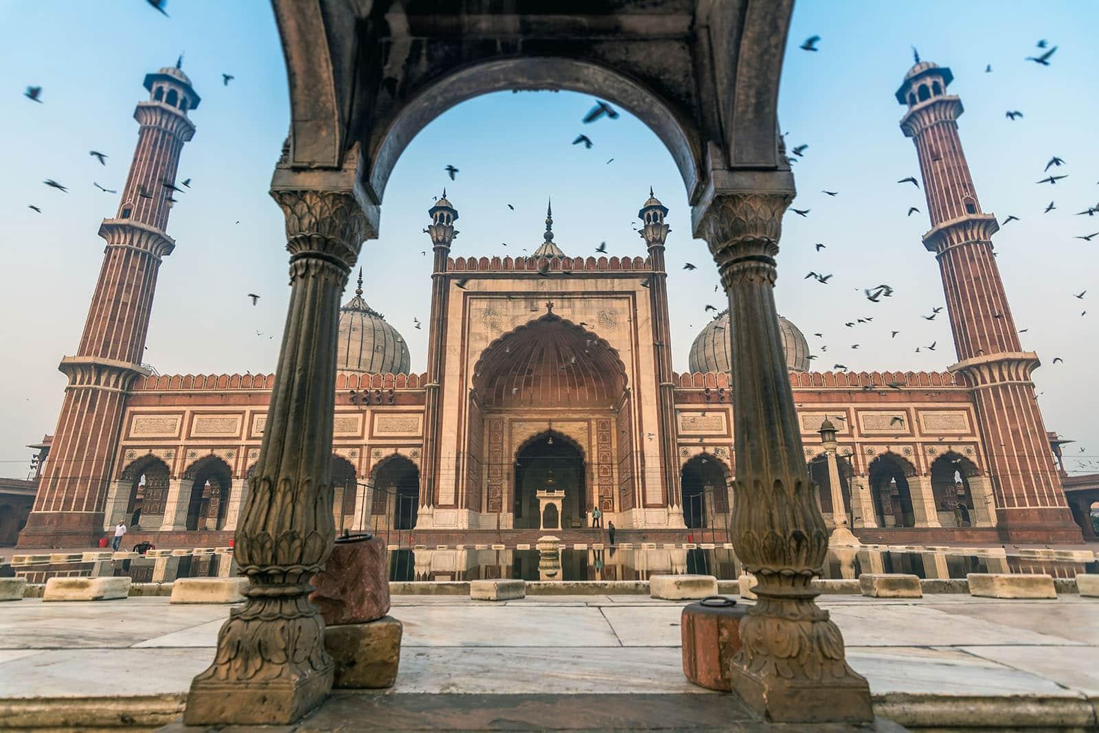 Conseils pour visiter New Delhi en 3 ou 4 jours - Mosquée Jama Masjid