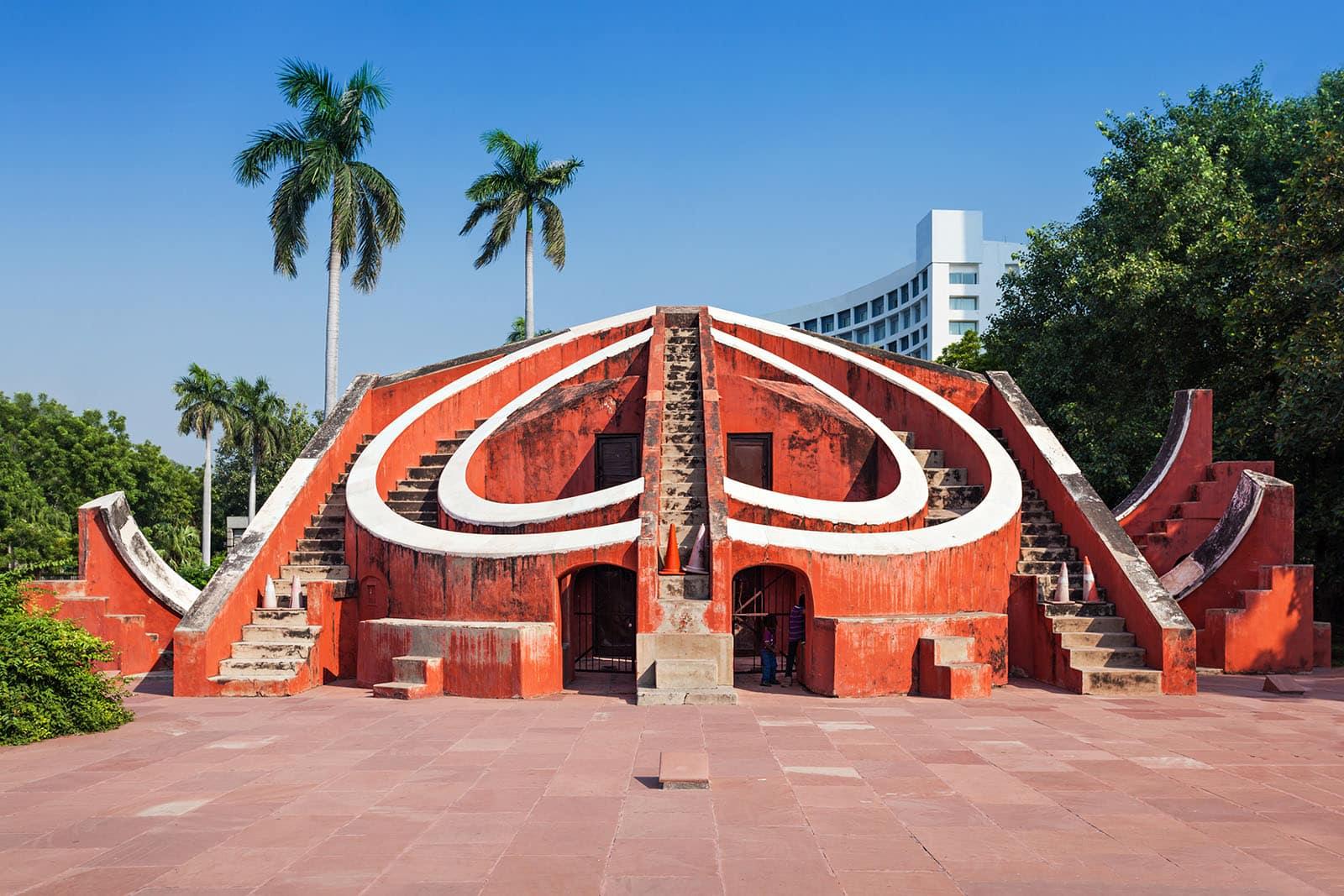 Conseils pour visiter New Delhi en 3 ou 4 jours - Jantar Mantar