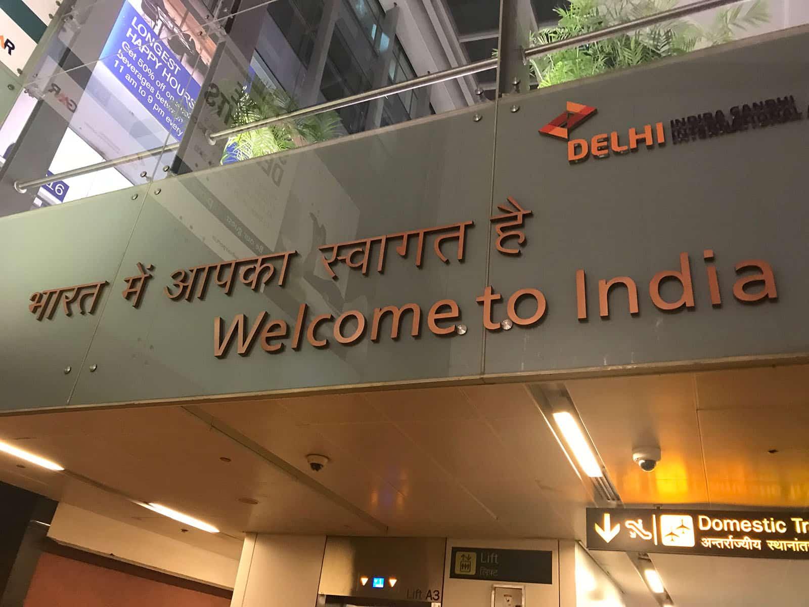 Conseils pour visiter New Delhi en 3 ou 4 jours - Aéroport Delhi