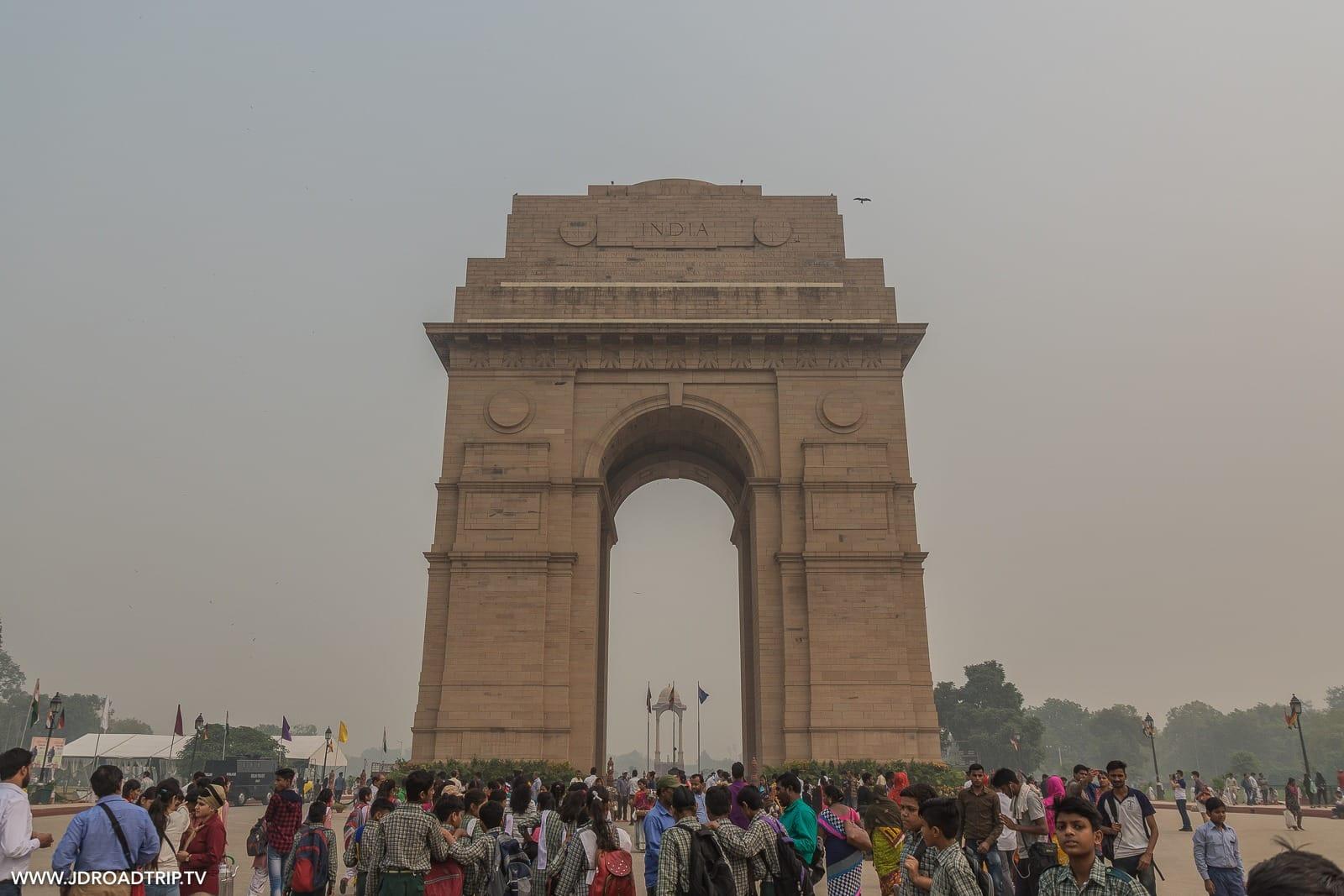 Conseils pour visiter New Delhi en 3 ou 4 jours - Porte de l'Inde