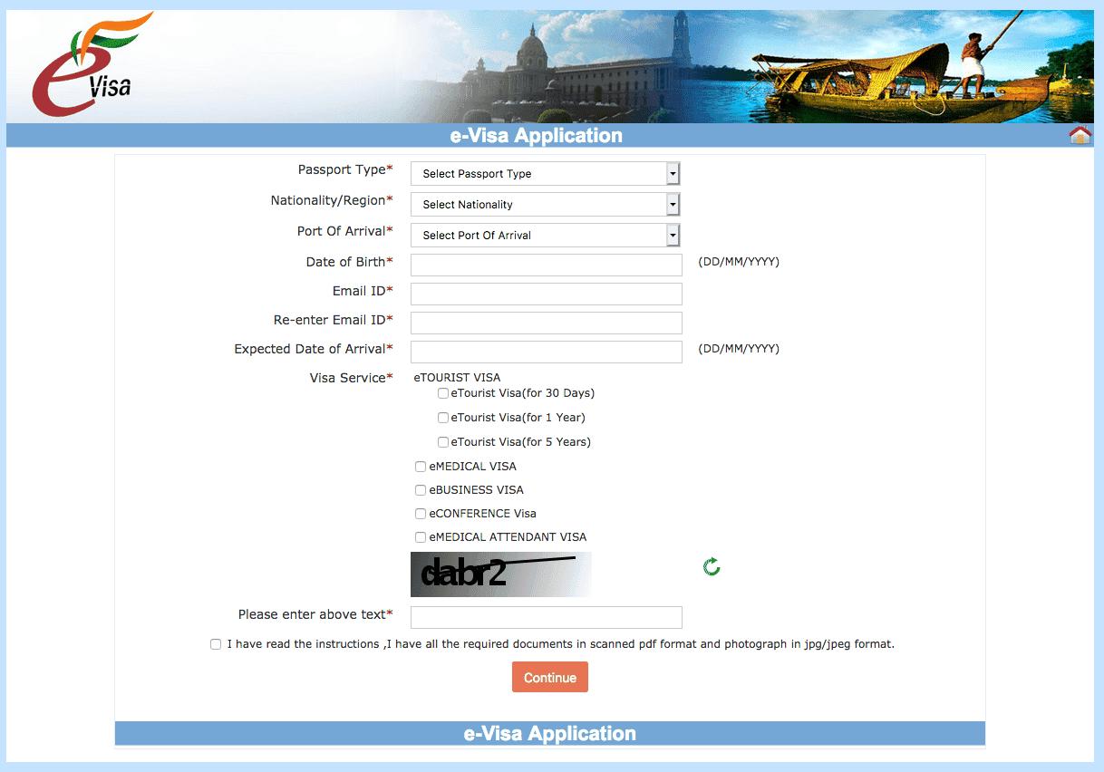 Comment faire son visa indien en ligne