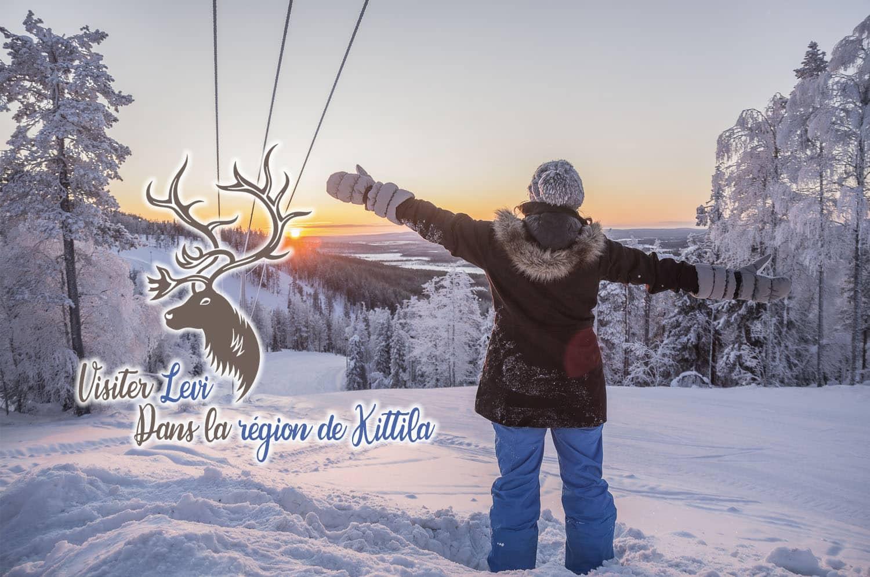 Finlande, Laponie : Visiter Levi dans la région de Kittila - JDroadtrip.tv