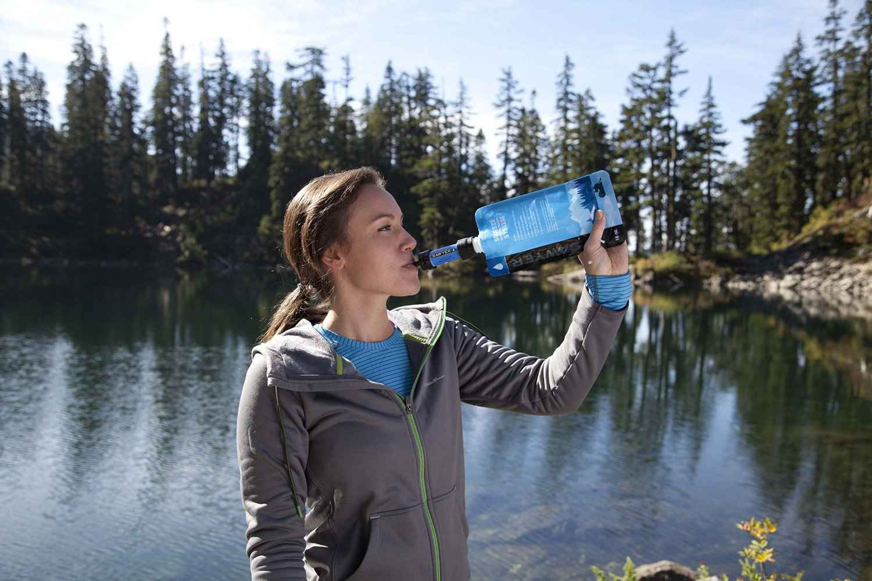 Comparatif des gourdes filtrantes et filtres à eau - Sawyer