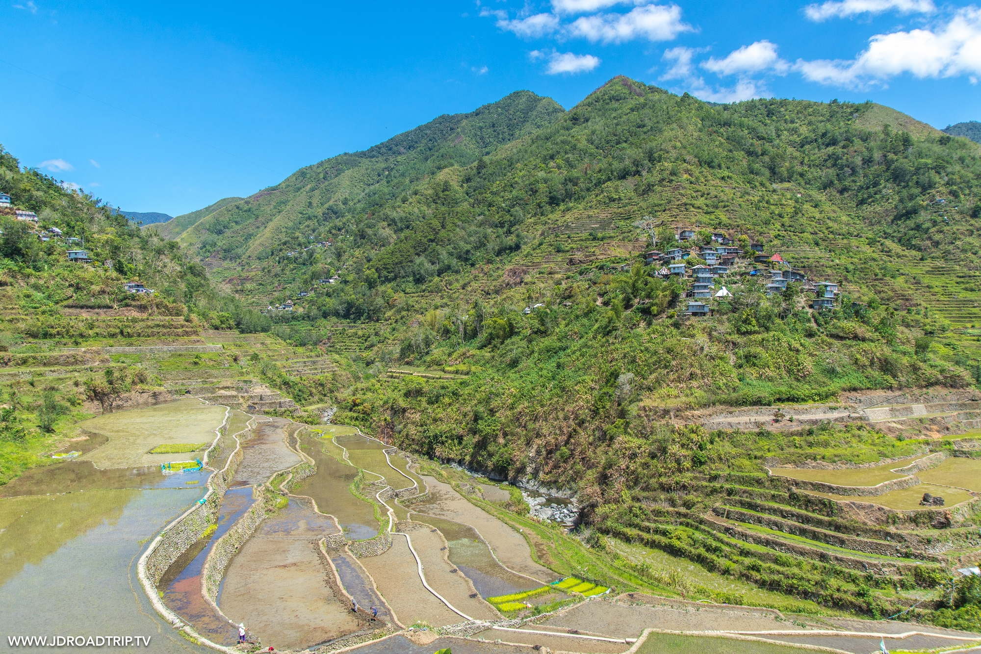 Trek dans les rizières de Banaue et Batad - Village de Cambulo