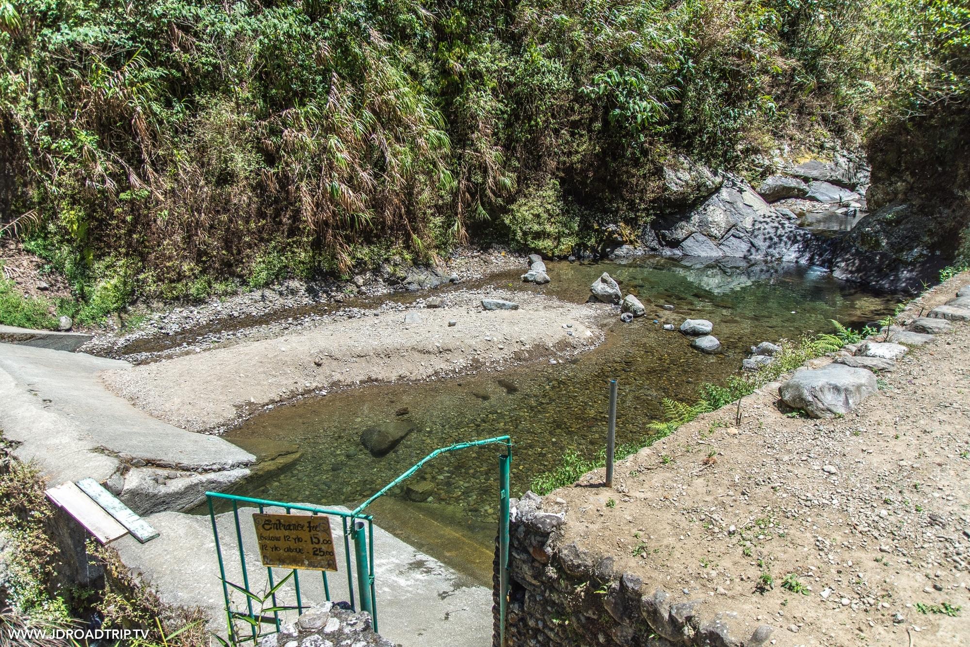 Trek dans les rizières de Banaue et Batad - Piscine naturelle