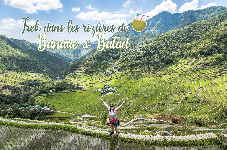 Trek dans les rizières de Banaue et Batad aux Philippines - JDroadtrip.tv
