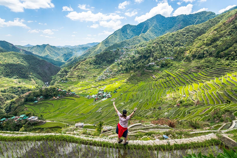 Trek dans les rizières de Banaue et Batad - Rizière en terrasse de Batad