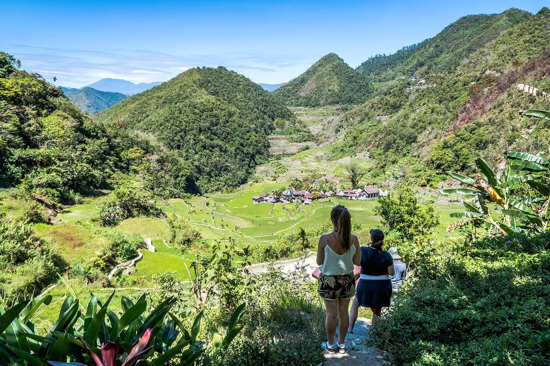 Trek dans les rizières de Banaue et Batad - Banga-An