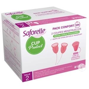 Comparatif des cups menstruelles - Saforelle Cup
