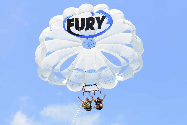 faire du parachute ascensionnel à Miami ou aux Keys