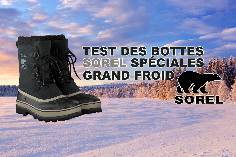 Test des bottes Sorel spéciales grand froid