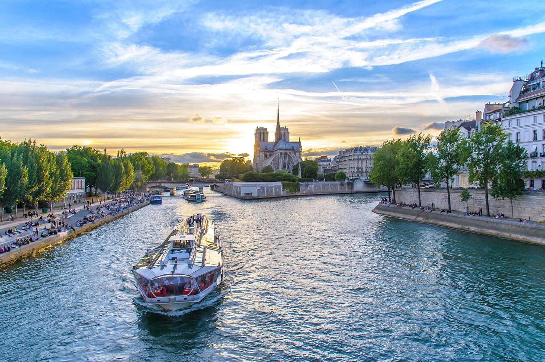 Visiter Paris en 4 ou 5 jours - Croisière sur la Seine