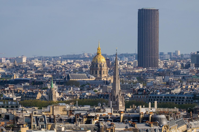 Visiter Paris en 4 ou 5 jours - Tour Montparnasse