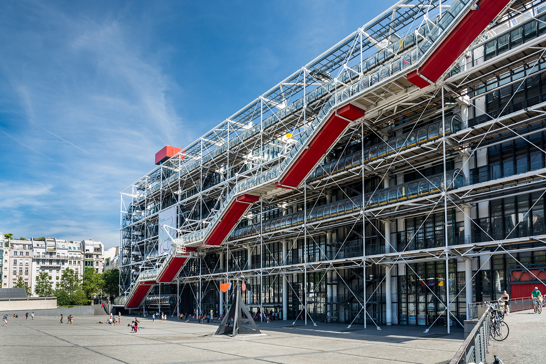 Visiter Paris en 4 ou 5 jours - Centre Pompidou