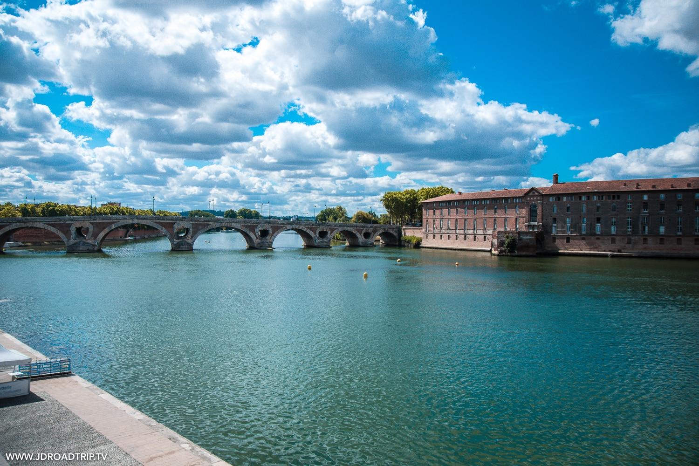 Toulouse - Canal du Midi à vélo