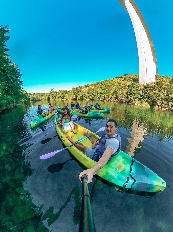 Que faire à Millau - Descente en canoé sur le Tarn