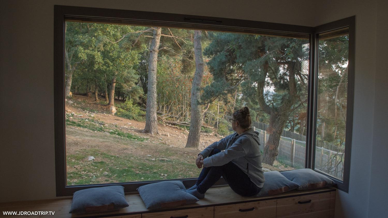 dormir et visiter le parc aux loups du Gévaudan