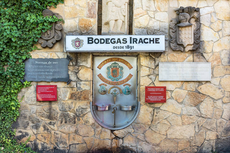 Camino Frances - Fontaine à vin d'Irache