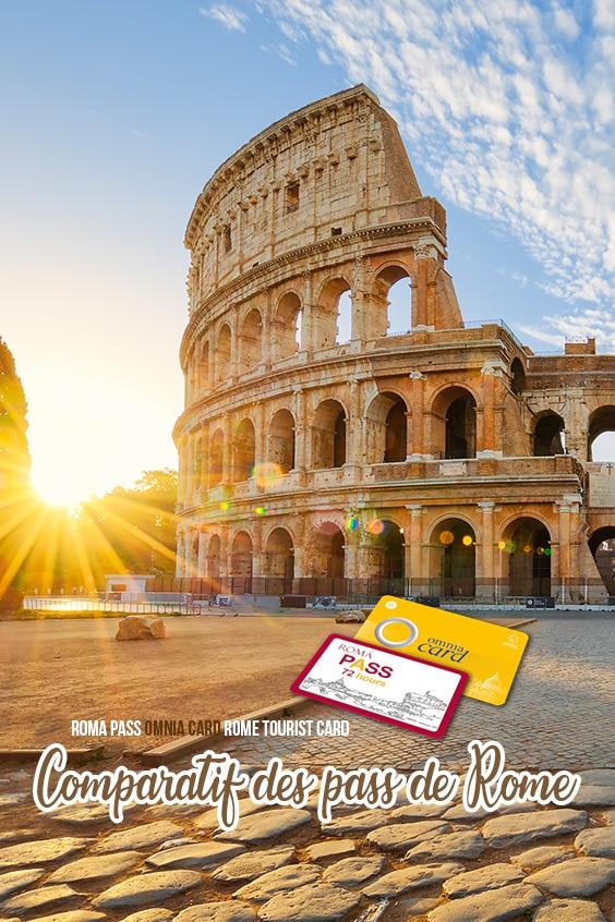 Roma Pass ou Omnia Card