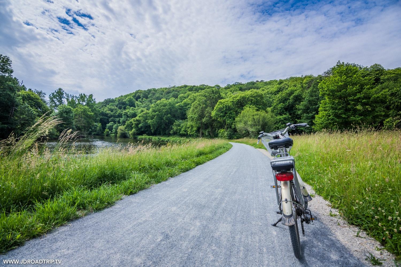 Que faire en Mayenne : vélo Francette