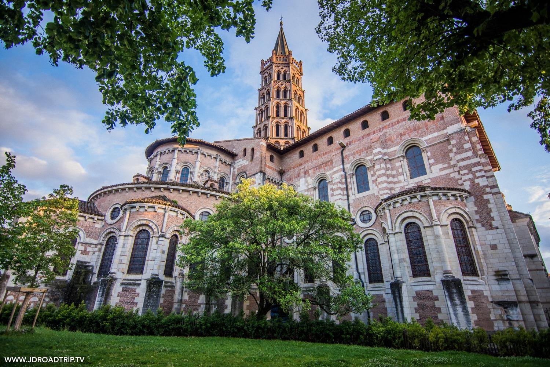 Visiter Toulouse : Basilique Saint-Sernin