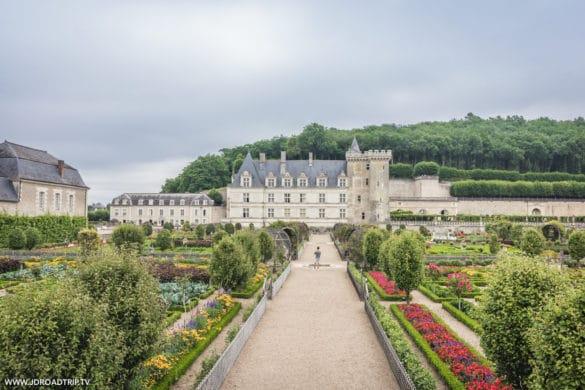 Loire à vélo - Château de Villandry