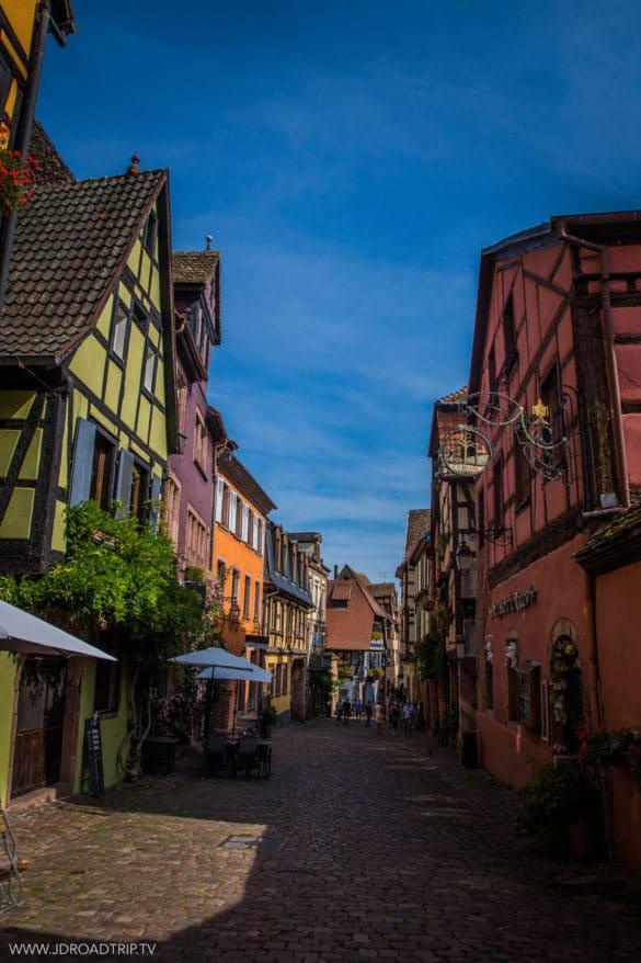 Alsace à vélo - Riquewihr